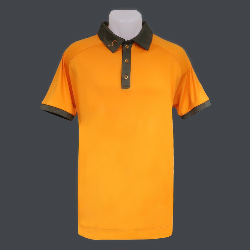 Polo homme - Orange | RELEASE